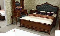 Спальня 8252 (спинка мягкая) (Орех) (раскомплектовуется)