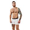 Чоловічі анатомічні боксери, Intimate білий, фото 3
