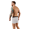 Чоловічі анатомічні боксери, Intimate білий, фото 4