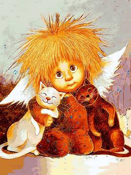 Картины по номерам 30×40 см Babylon Солнечные друзья Г. Чувиляева (VK 288)
