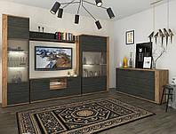 Комплект мебели в гостиную Sokme Адель Северное дерево / Дуб крафт табако