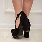 Женские босоножки Fashion Elvis 2879 36 размер 23,5 см Черный 38, фото 10