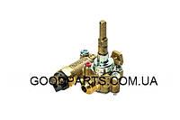 Кран газовый средней горелки для газовой плиты Indesit C00111240