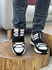 Чоловічі кросівки шкіряні весна/осінь білі New Mercury Бет, фото 3