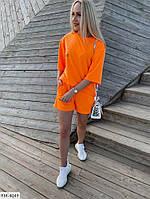 Жіночий літній спортивний одяг,женский спортивный костюм на лето футболка шорты S-M, L-XL