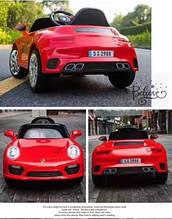 Эл-мобиль T-7642 EVA RED легковая на Bluetooth 2.4G Р/У 2*6V4.5AH мотор 2*20W с MP3 103*66*49/1/