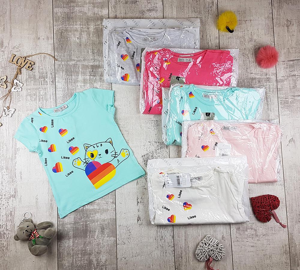 Дитячі футболки для дівчаток №11124