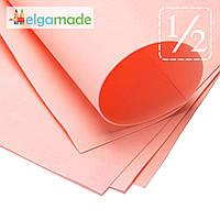 Фоамиран ПЕРСИКОВЫЙ, 1/2 листа, 30x70 см, 0.8-1.2 мм, Иран, фото 1