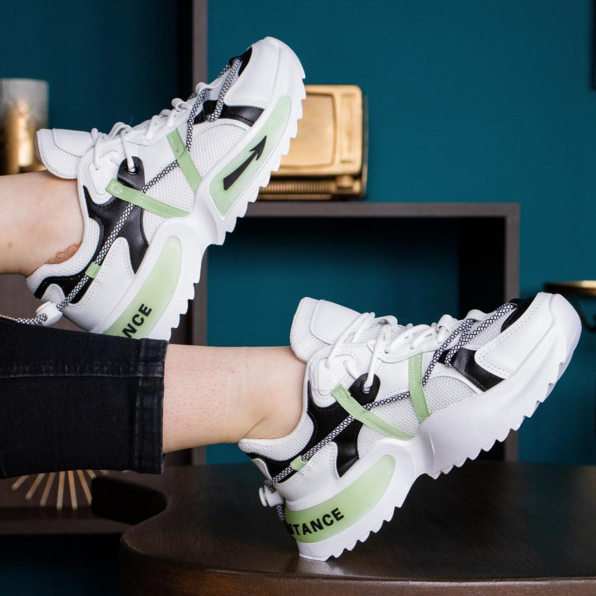 Кросівки жіночі Fashion Hammy 2946 36 розмір 23 см Білий