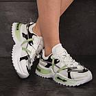 Кросівки жіночі Fashion Hammy 2946 36 розмір 23 см Білий, фото 9