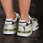 Кросівки жіночі Fashion Hammy 2946 36 розмір 23 см Білий, фото 10