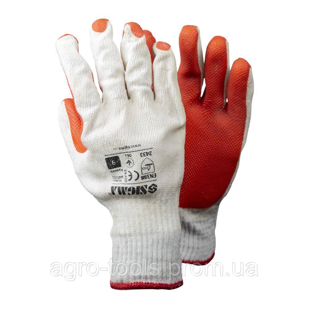 Перчатки стекольщика (манжет) SIGMA (9445351)