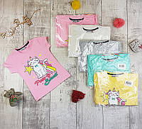 Дитячі футболки для дівчаток №2202, фото 1