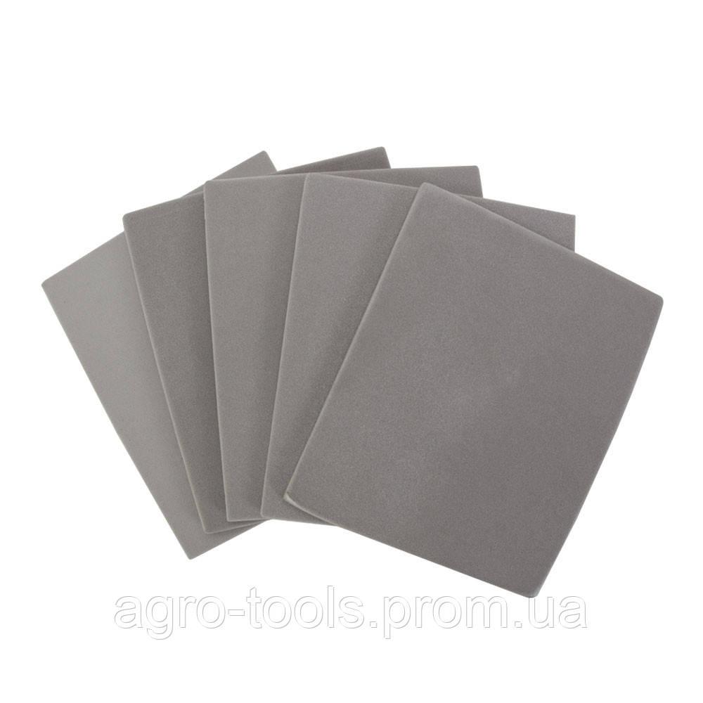Губка шлифовальная односторонняя 115×140мм P1000 (5шт) SIGMA (9130371)