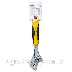 Ключ розвідний 300мм CrV (обгумована рукоятка) SIGMA (4101041), фото 2