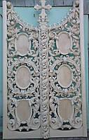 Царские врата деревянные,резные,барокко