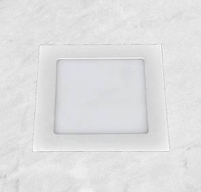 Светодиодный LED точечный врезной светильник 18W (квадрат), фото 2