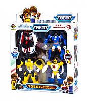 Игровой набор трансформеров Tobots - 4 шт в комплекте (DT-339-7)