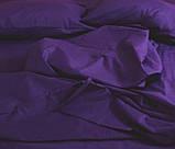 Комплект постільної білизни однотонний Бязь GOLD 100% бавовна Бежевого кольору, фото 2