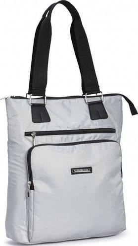 Удобная женская сумка из болоньевой ткани Dolly (Долли) 449 серый