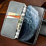 Шкіряний чохол книжка GETMAN Cubic (PU) для Huawei P40, фото 2