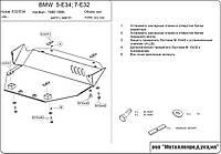 Защита картера двигателя BMW 5 Series E34