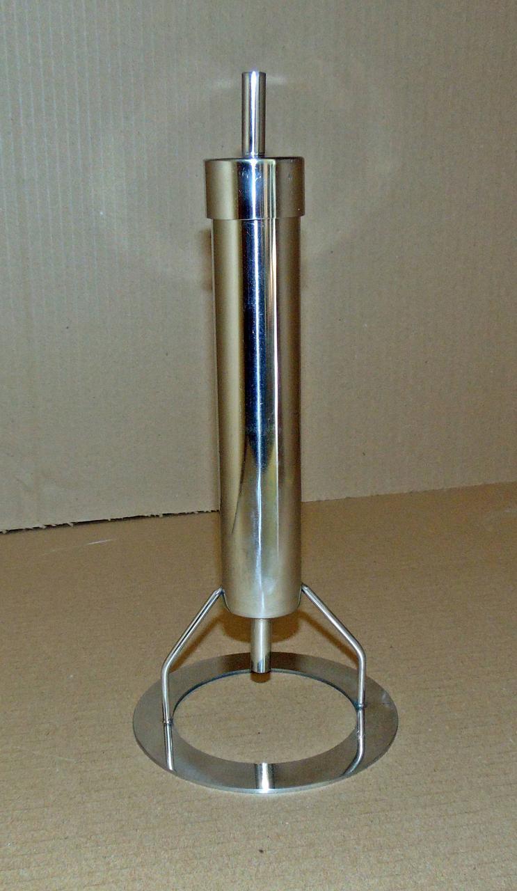 Вугільна колонка для фільтрації самогону з нержавіючої сталі