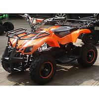 Двухместный Детский электро-квадроцикл Profi HB-EATV 800N-7 Оранжевый