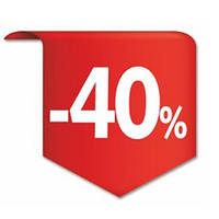 Знижка 40%!