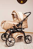 Коляска детская универсальная 2 в 1 Rover Trans baby беж