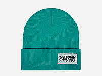 Зимняя теплая шапка Urban Planet BIG CLASSIC 2016 Ментоловая