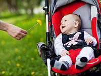 Первая прогулка на свежем воздухе с малышом