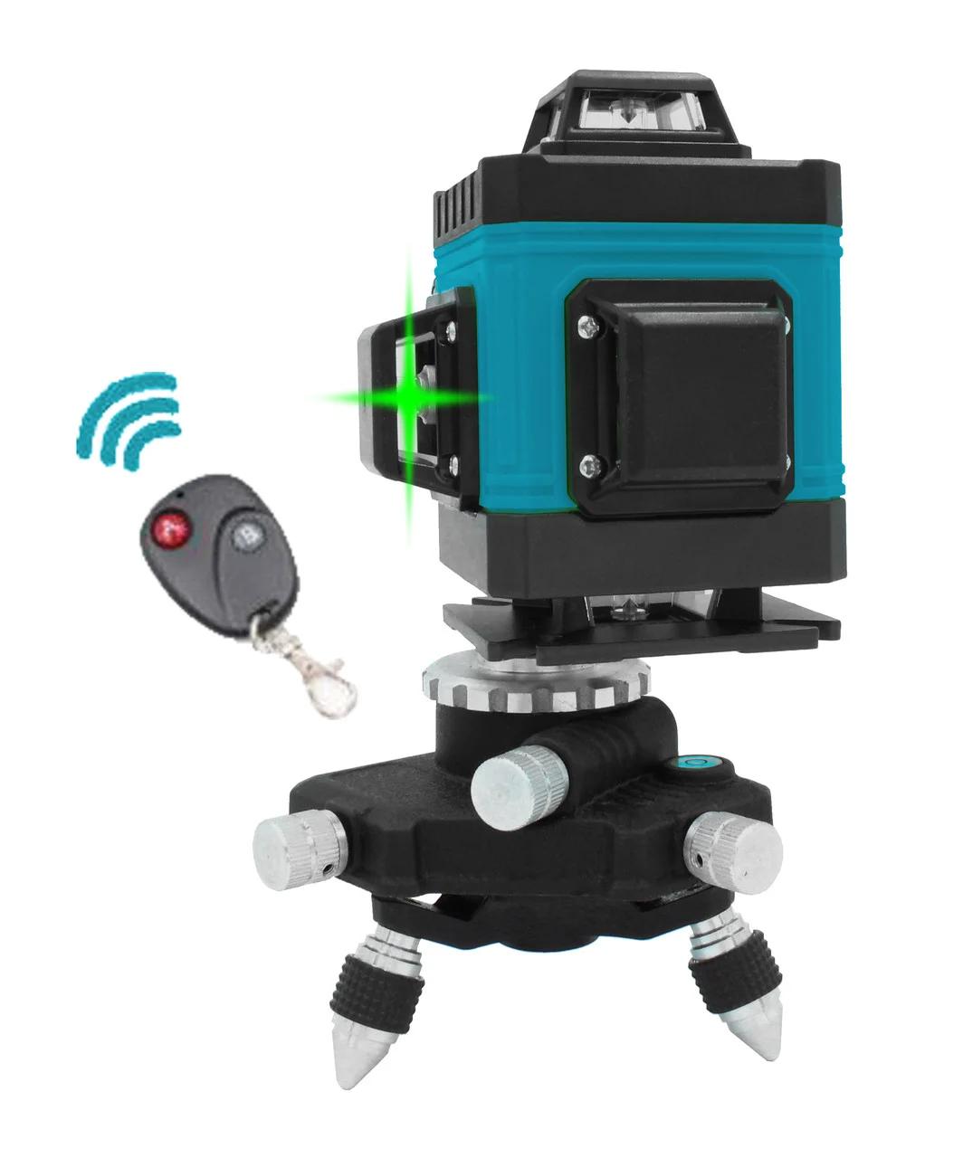 4D лазерний нівелір KRAISSMANN 16 4D-LLA 25 RG (зелений промінь). Лазерний нівелір Крайсман