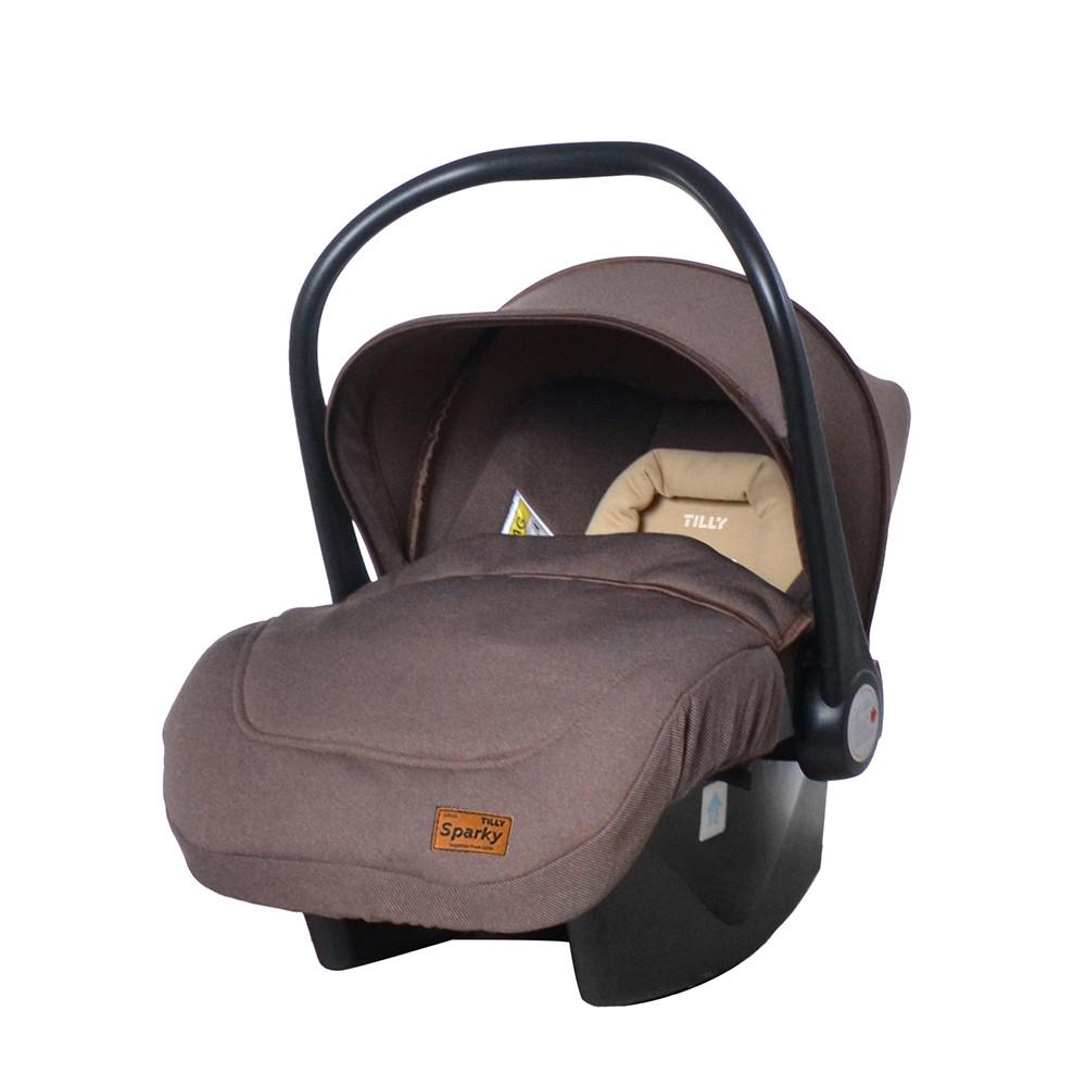 Автокресло - бебикокон TILLY Sparky T-511/2 Brown 0-13 кг