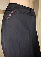 Брюки женские темно-синие классика 48- 50 размер  DAS Elit