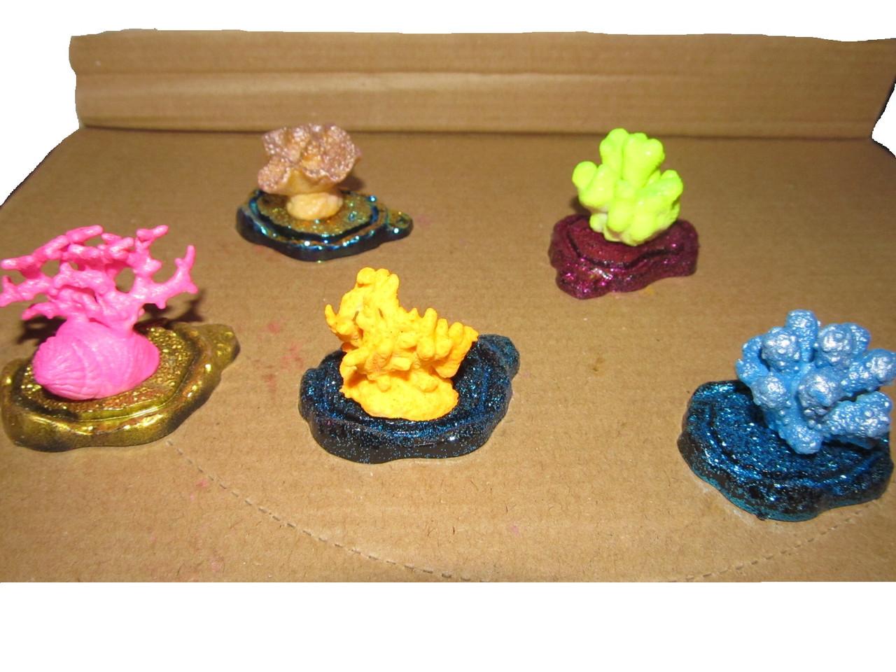 Декорации растущие в воде, кораллы для аквариума