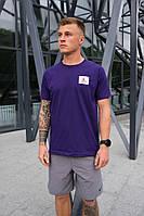 Мужская футболка Nike Jordan Flight (Фиолетовая)