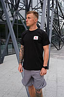 Мужская футболка Nike Jordan Flight (Чёрная)