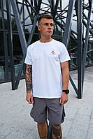 Мужская футболка Nike Jordan Flight (Белая)
