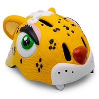Детский защитный шлем Crazy Safety Леопард желтый