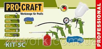 Набір пневмоінструменту Procraft KIT-5C