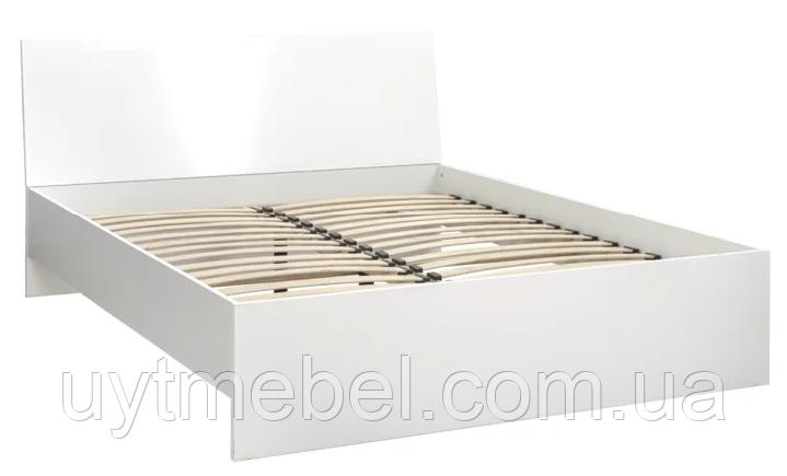 Ліжко Пріма new MW1600 білий (ЕМБАВУД)
