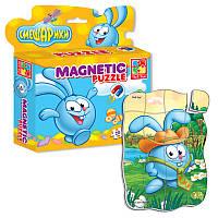 """Магнитные фигурные пазлы """"Смешарики.Крош"""" VT1504-31 Vladi Toys"""