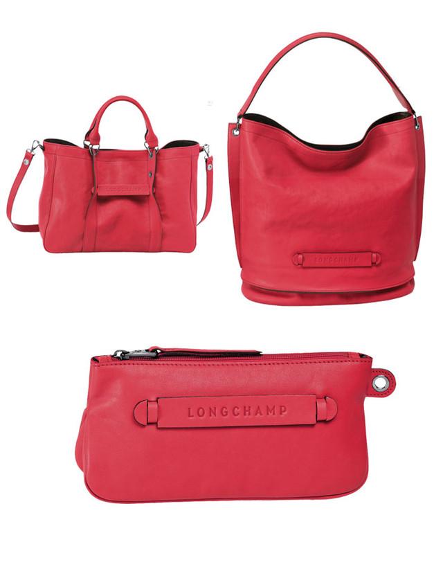 Сумка Longchamp Tote bag, сумка Hobo и клатч.