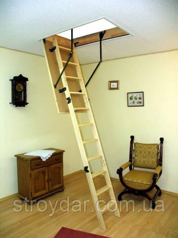 Лестница чердачная Oman Prima 120х60 мм
