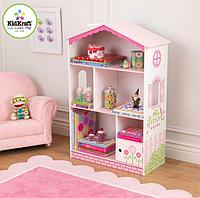 Детский кукольный книжный шкаф с полками Kidkraft 14604