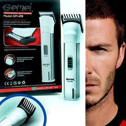 🔥 Аккумуляторный триммер Gemei GM-698. Бодигруммер Gemei GM-698