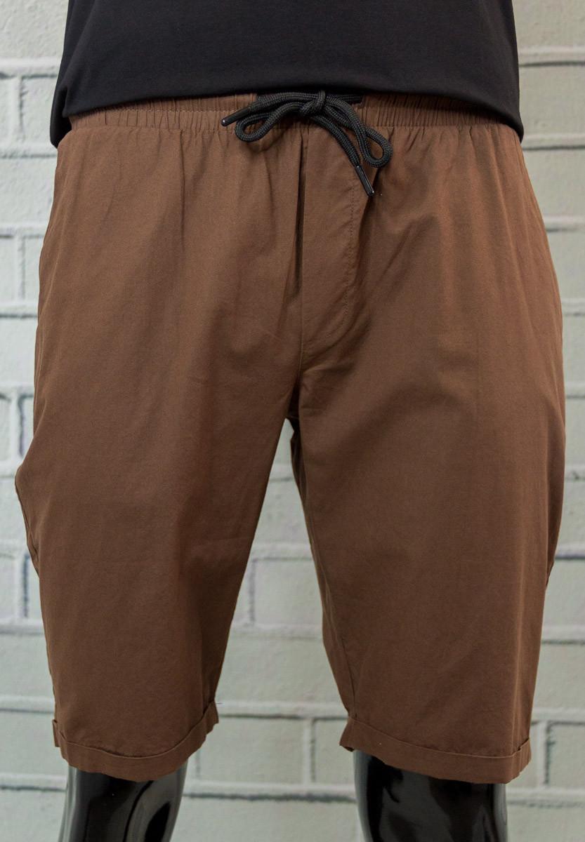 Шорты мужские MNC Шоколадные Стильные Молодежные Хлопковые Свободный крой Отличная посадка Мужская одежда
