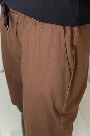 Шорты мужские MNC Шоколадные Стильные Молодежные Хлопковые Свободный крой Отличная посадка Мужская одежда, фото 2