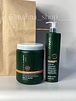 Регенерирующий кондиционер для окрашенных волос Inebrya Green Ice Cream Post-Treatment Conditioner 300 ml